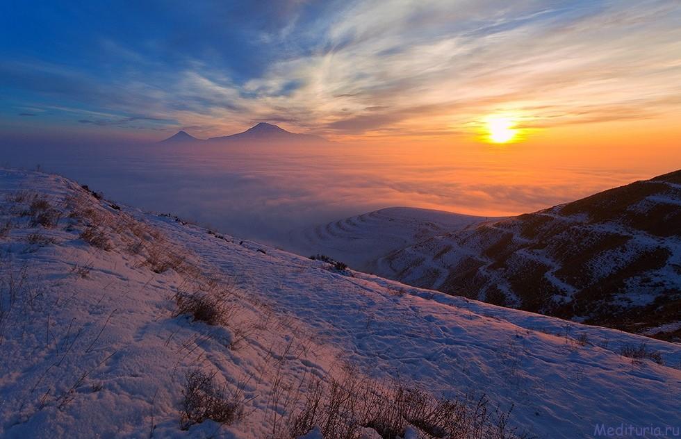 Зимнее сказочное путешествие по местам силы Армении (7 дней)