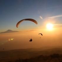 Полет на параплане и гора Арагац на выходных в Армении
