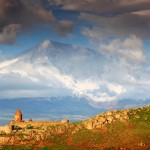 Хор Вирап — самая близка точка к горе Арарат