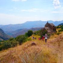 Активный тур в Армению без палаток и рюкзаков 8 дней по югу